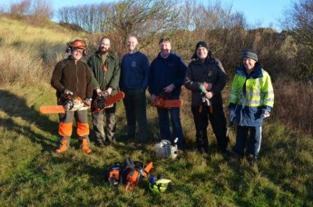 Sefton coast scrub work Dec 13The team for web
