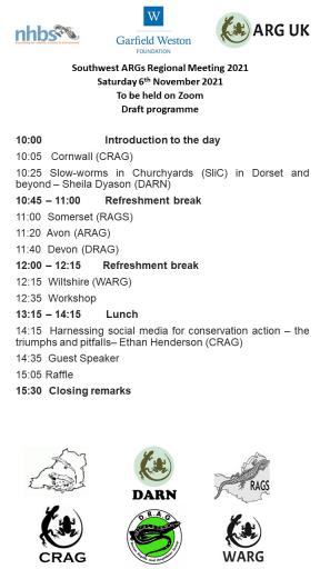 SW Regional ARG meeting 6 November  2021 - draft programme.JPG